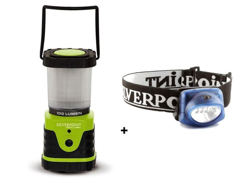 Silverpoint Lampa Daylight Lantern 100 + Čelovka Hunter XL25 Zdarma