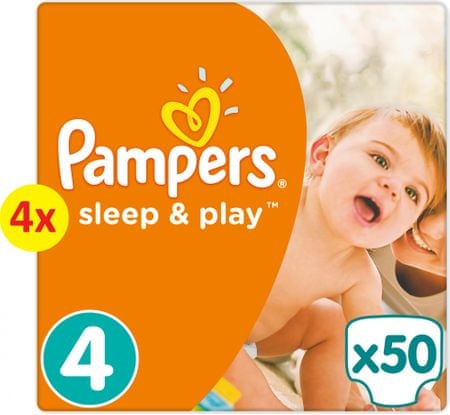 Pampers pieluchy Sleep&Play 4 Maxi - 200 szt