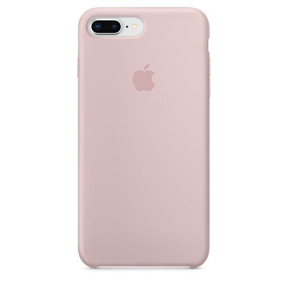 Apple Silikonový Kryt, Apple Iphone 7 Plus / 8 Plus, mqh22zm/A, Pink Sand