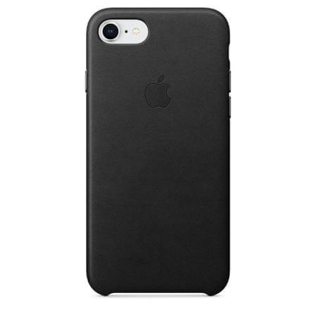 Apple usnjen ovitek iPhone 8/7 Leather Case - Black