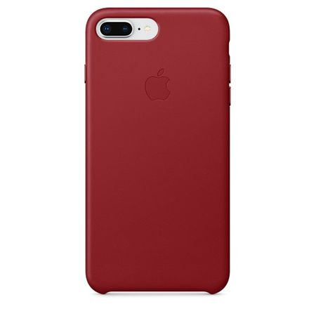 Apple Bőr tok, Apple iPhone 8/7 Plus, MQHN2ZM/A, red
