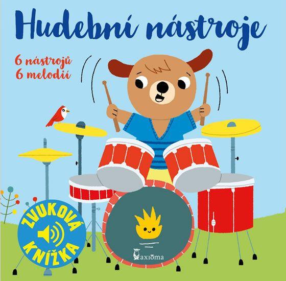 Hudební nástroje - zvuková knížka