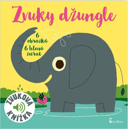 Zvuky džungle - zvuková knížka