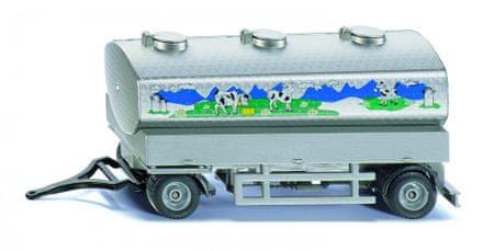 SIKU Farmer - cisternový vlek na přepravu mléka 1:50 - rozbaleno