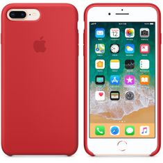 Apple Silikónový kryt, Apple iPhone 7 Plus / 8 Plus, MQH12ZM/A, (PRODUCT)RED