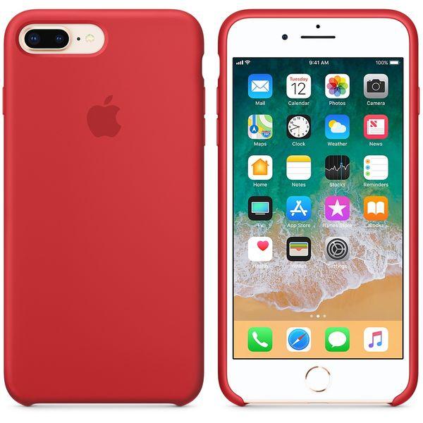 Apple Silikonový Kryt, Apple Iphone 7 Plus / 8 Plus, mqh12zm/A, ProductRed