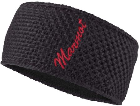 Marmot naglavni trak Theo Headband Black/Bright Ruby
