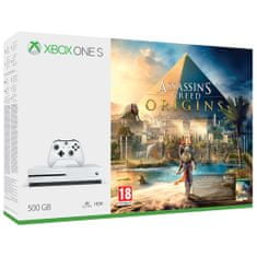 Microsoft Xbox One S 500GB + Assassin's Creed Origins