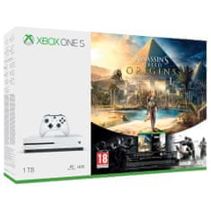Microsoft Xbox One S 1T + Assassin's Creed Origins + R6 Siege