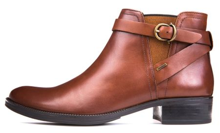 Geox Dámská kotníčková obuv Meldi Np Abx, hnědá, vel. 40 - rozbaleno