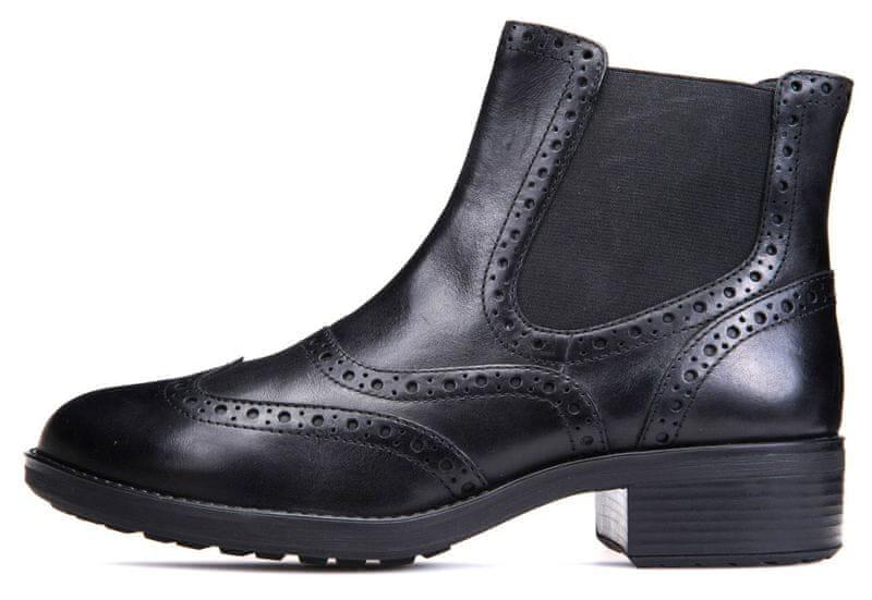 Geox dámská kotníčková obuv Ettiene 41 černá