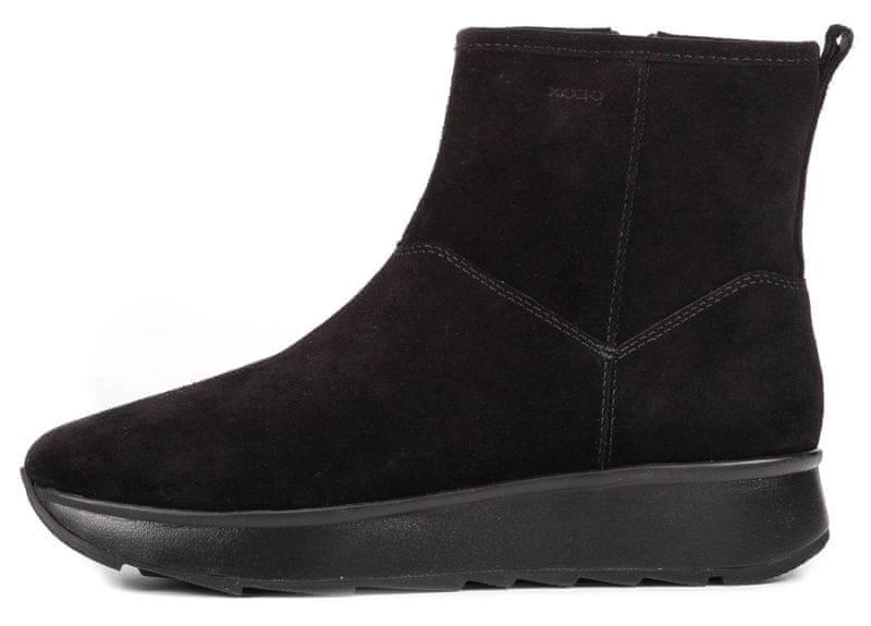 Geox dámská kotníčková obuv Gendry 39 černá