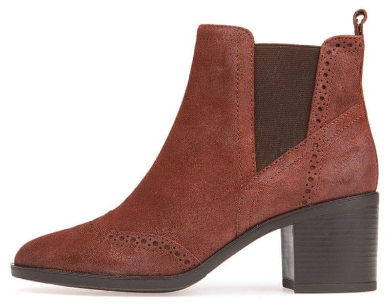 Geox dámská kotníčková obuv Glynna 41 hnědá