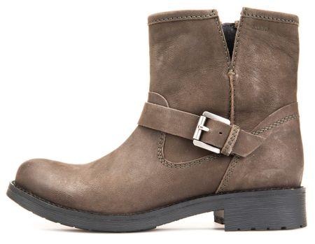 Geox dámská kotníčková obuv Donna New Virna 39 hnedá
