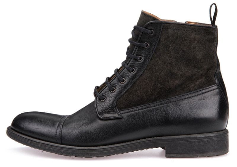 Geox pánská kotníčková obuv Jaylon 46 černá