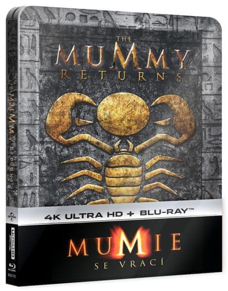 Mumie se vrací (2 disky) - Blu-ray + 4K ULTRA HD