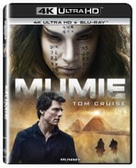 Mumie (2 disky) - Blu-ray + 4K ULTRA HD