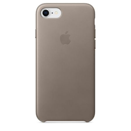 Apple usnjeni ovitek iPhone 8/7 Leather Case - Taupe