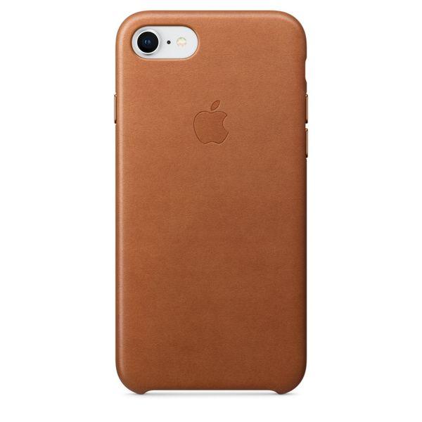 Apple Koženž Kryt, Apple Iphone 7/8, mqh72zm/A, Saddle Brown