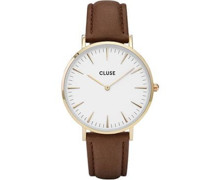 Cluse La Bohème Gold White/Brown CL18408