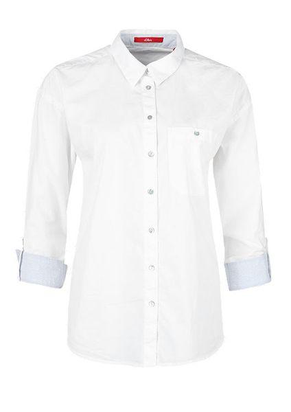 s.Oliver dámská košile 36 bílá
