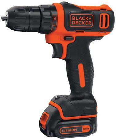 Black+Decker akumulatorski vrtalni vijačnik BDCDD121