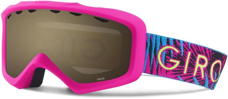 Giro Grade Bright Pink Palm AR40