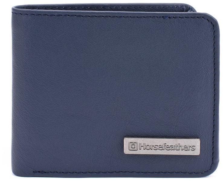 Horsefeathers Kožená peněženka Brad Blue AA826D