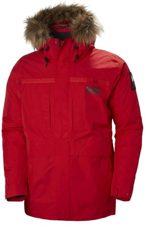 Helly Hansen moška jakna Coastal 2 Parka, rdeča, XXL