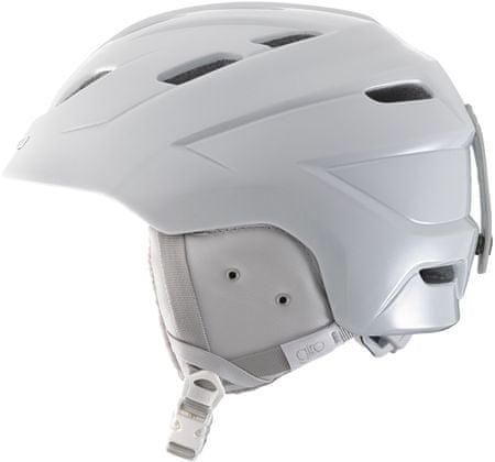 Giro ženska smučarska čelada Decade, bela, 55,5-59 cm