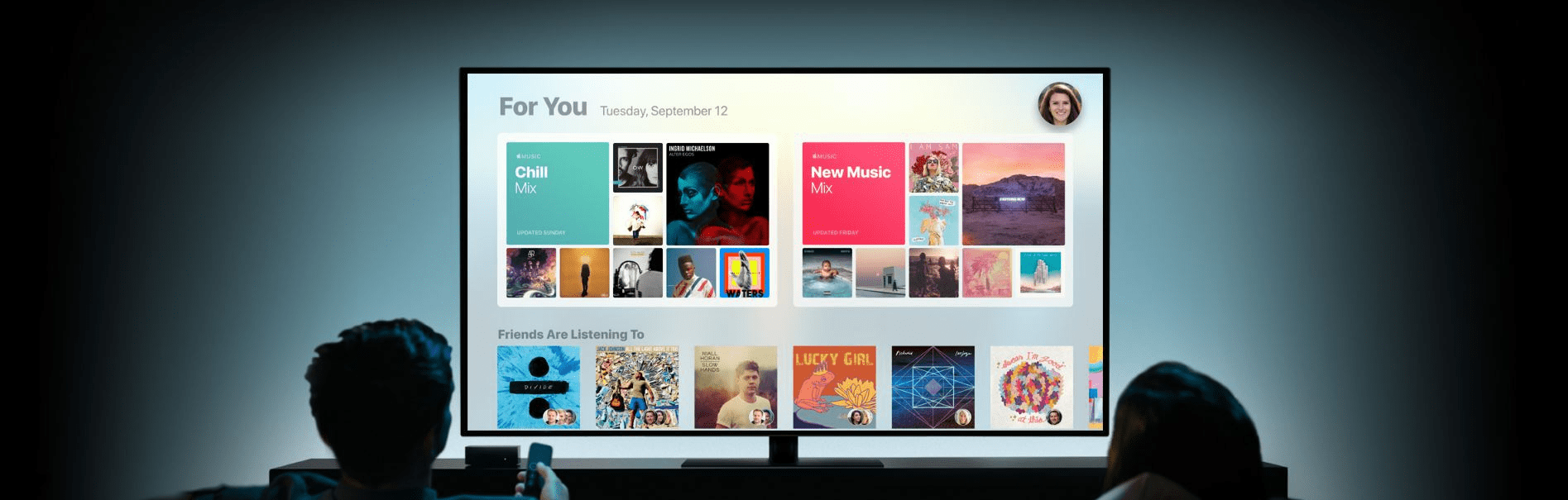 Apple Music, AirPlay