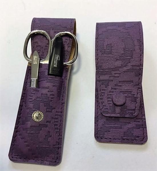 DuKaS Cestovní manikúrová sada 3 dílná fialová PL 893