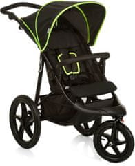 Hauck Runner 2019 kočík black neon yellow