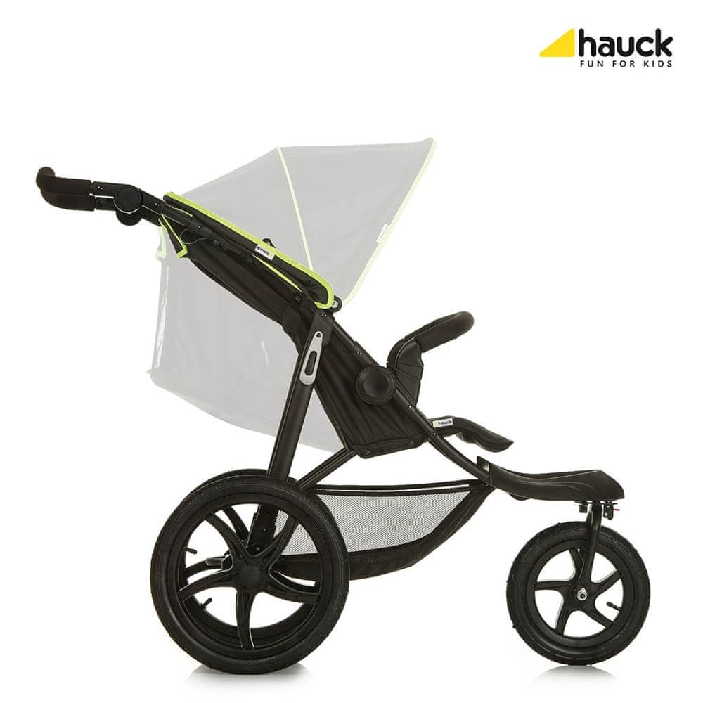 Hauck Runner 2020 kočárek black neon yellow