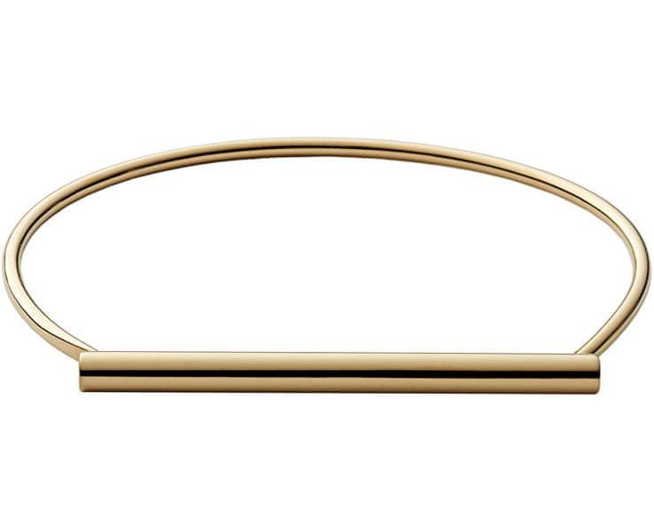 Skagen Pevný ocelový náramek ve zlaté barvě SKJ0902710
