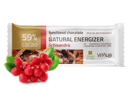 Vitalo Funkční čokoláda Natural Energizer 25g