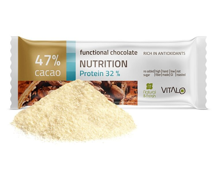 Vitalo Funkční čokoláda Nutrition - Protein 32% 25g