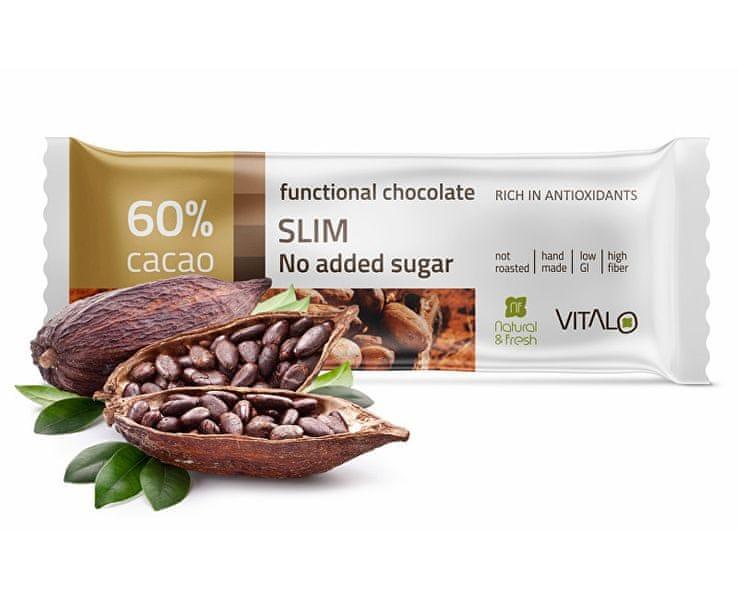 Vitalo Funkční čokoláda SLIM 25g