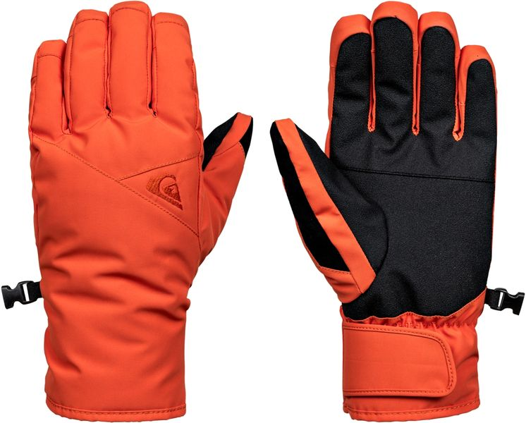 Quiksilver Cross Glove M Glov Nms0 Mandarin Red L