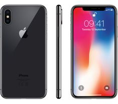 Apple iPhone X Mobiltelefon, 256GB, Asztroszürke