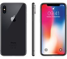 Apple iPhoneX Mobiltelefon, 256GB, Asztroszürke