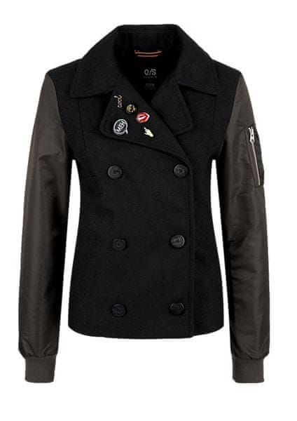 s.Oliver dámská bunda S černá