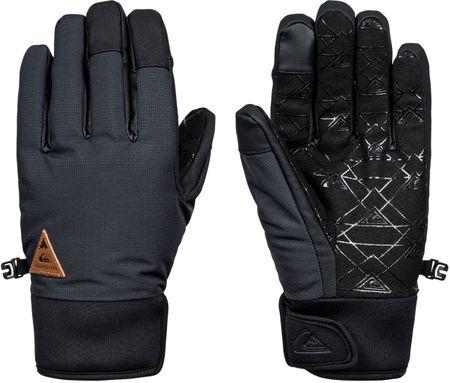 Quiksilver moške rokavice Method Glove, črne, XL