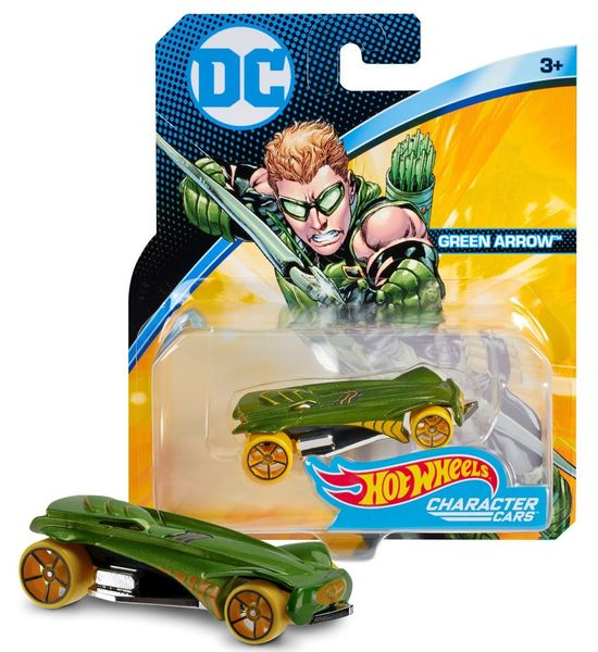 Hot Wheels DC Kultovní angličák Green Arrow