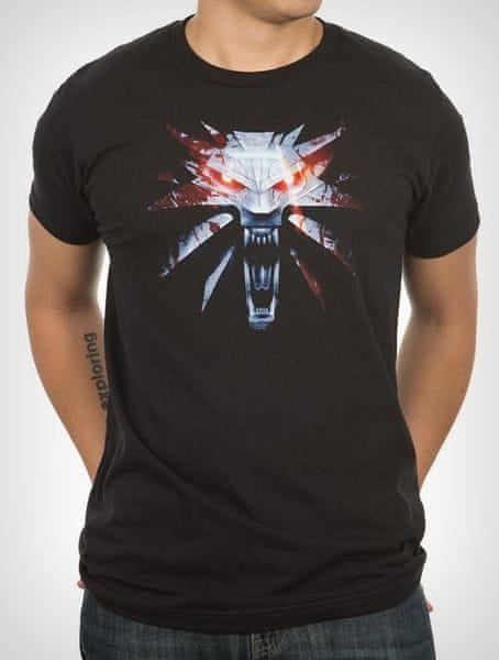 Tričko Zaklínač 3 Medailon (velikost XL)