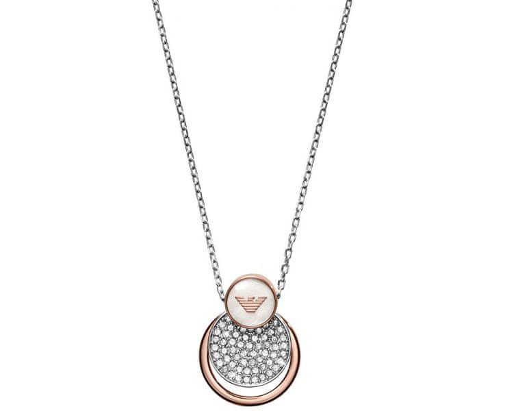 Emporio Armani Luxusní náhrdelník EGS2365040