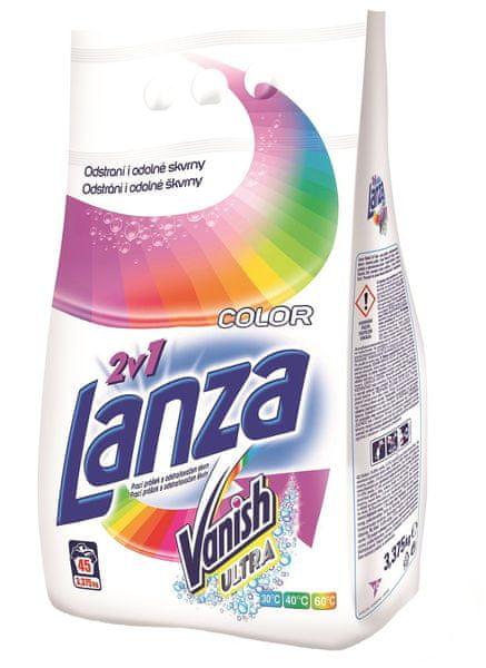 Lanza Ultra 2v1 Color 3,375 kg, 45 praní