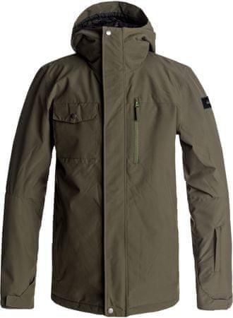 Quiksilver moška jakna Mission Solid, rjava, L