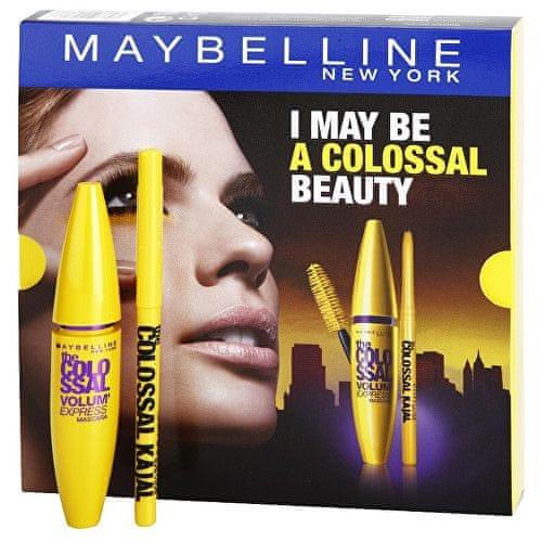 Maybelline Dárková sada dekorativní kosmetiky na oči I May Be A Colossal Beauty