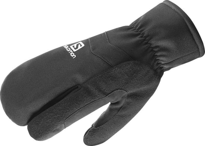 Salomon Rs Warm 3 Fingers U Black/White S